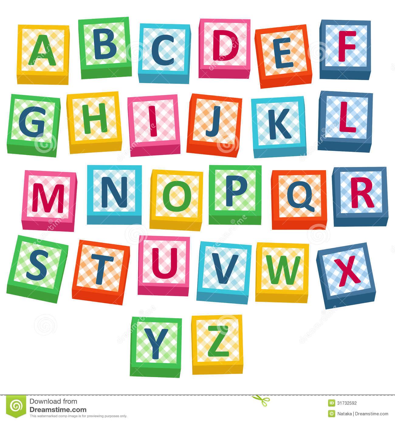 Baby Blocks Alphabet Clipart 20 Free Cliparts