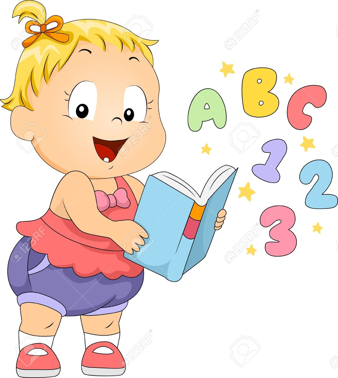Baby Reading A Book Clipart 20 Free Cliparts