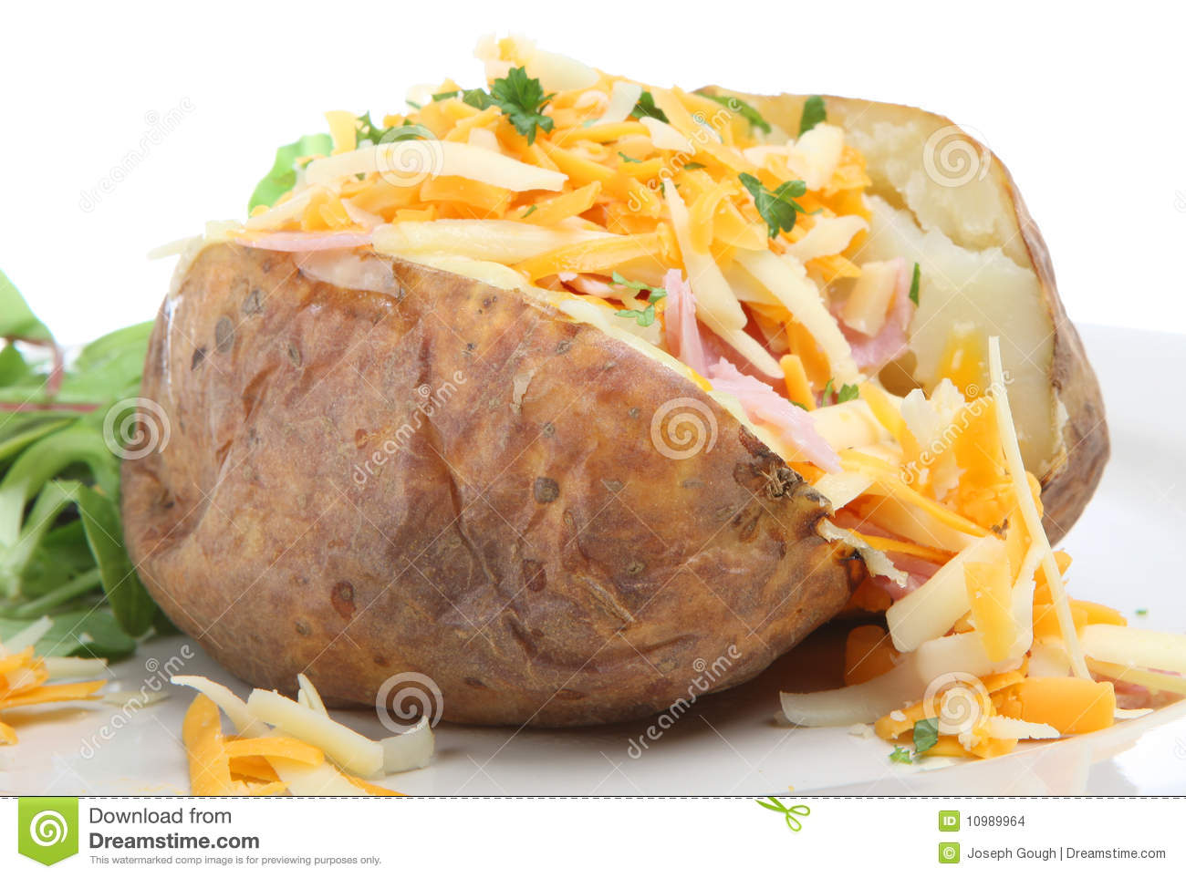 Baked Potatoes Clipart