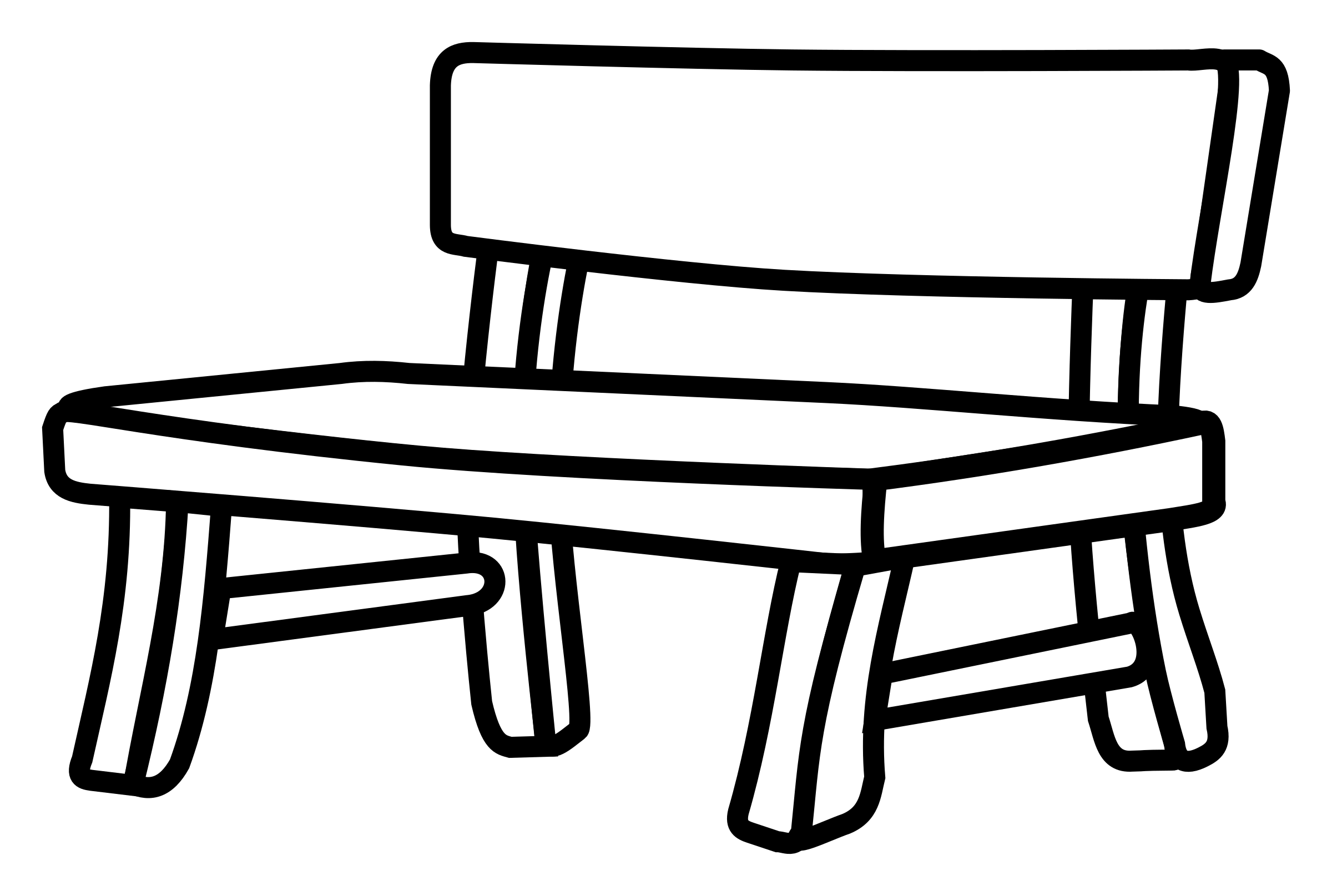 Benches Clipart