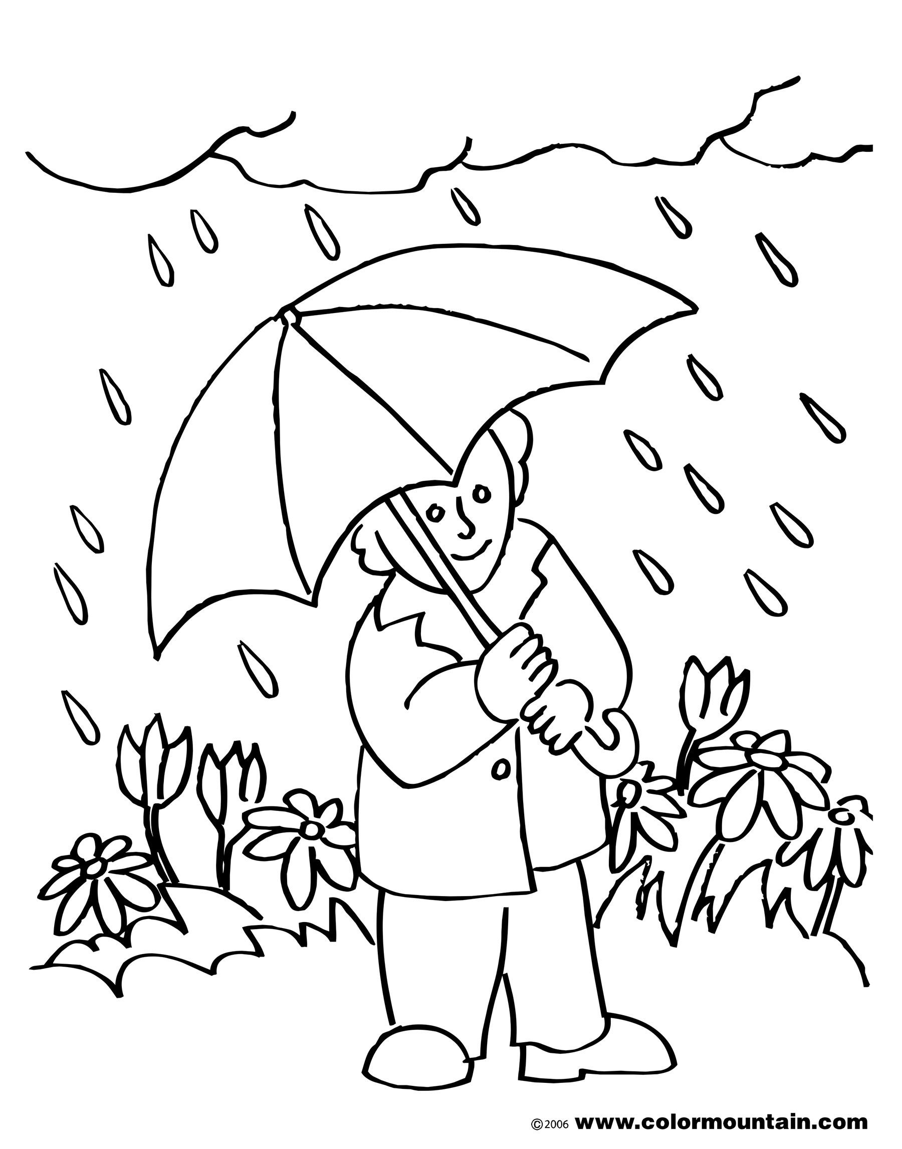 Black And White May Day Clipart 20 Free Cliparts