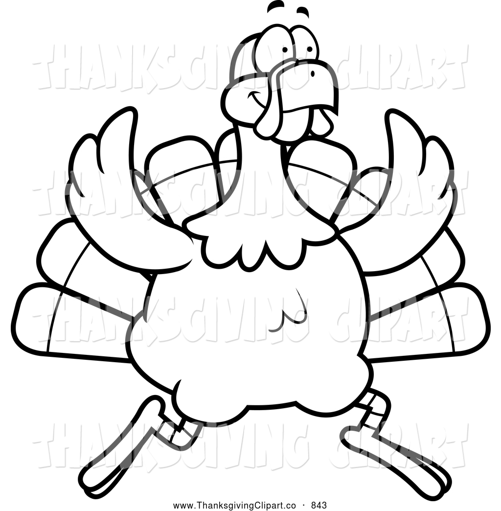 Black White Thanksgiving Clipart 20 Free Cliparts