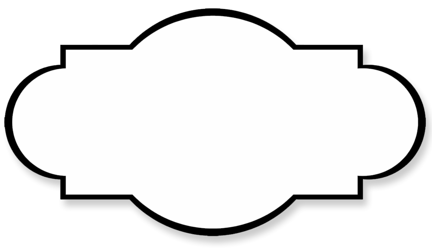 Blank Label Clipart