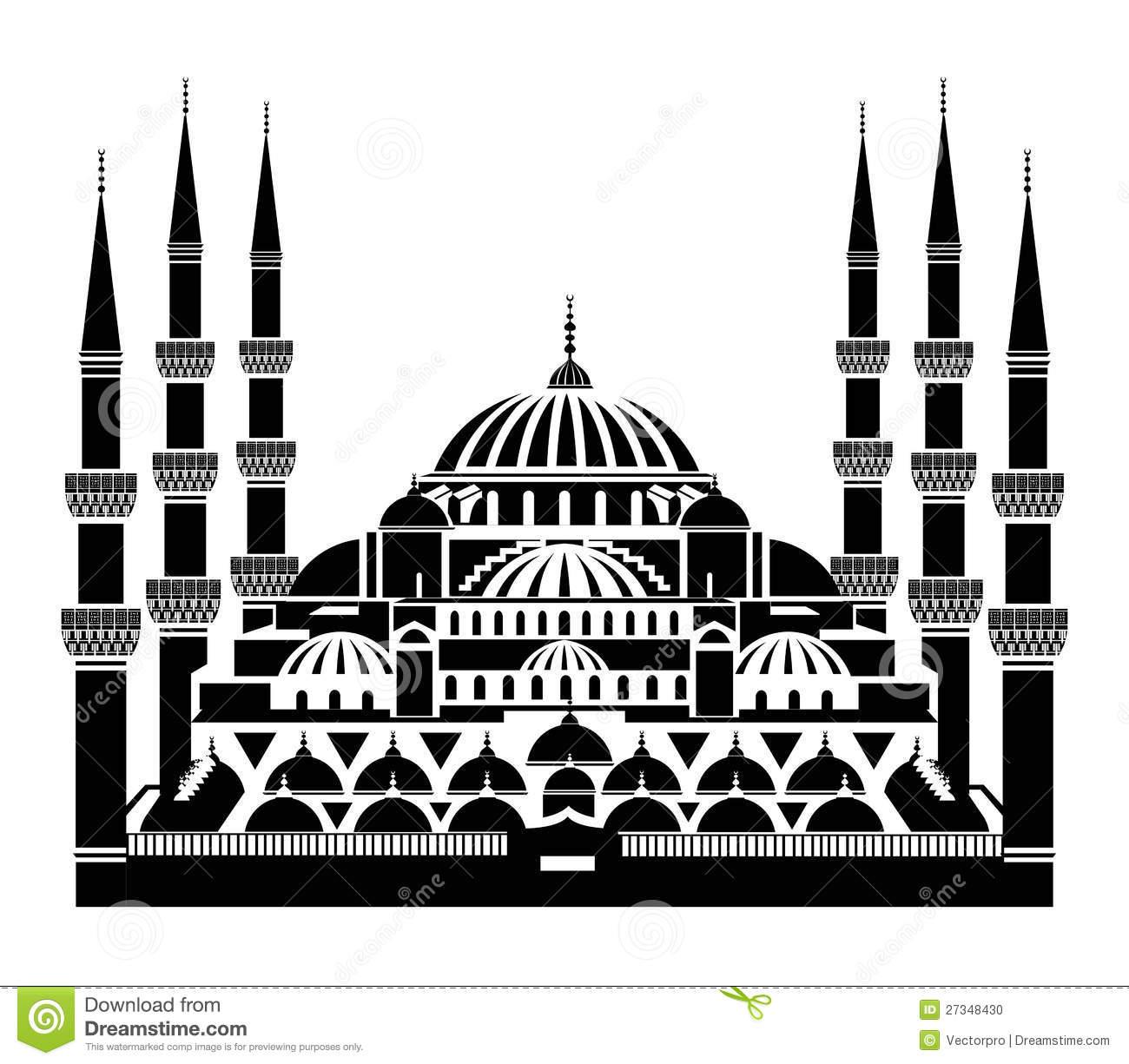Sultan Ahmet Mosque Clipart