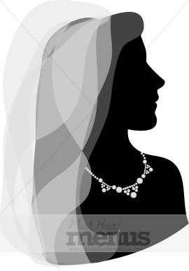 Bridal Veil Clipart