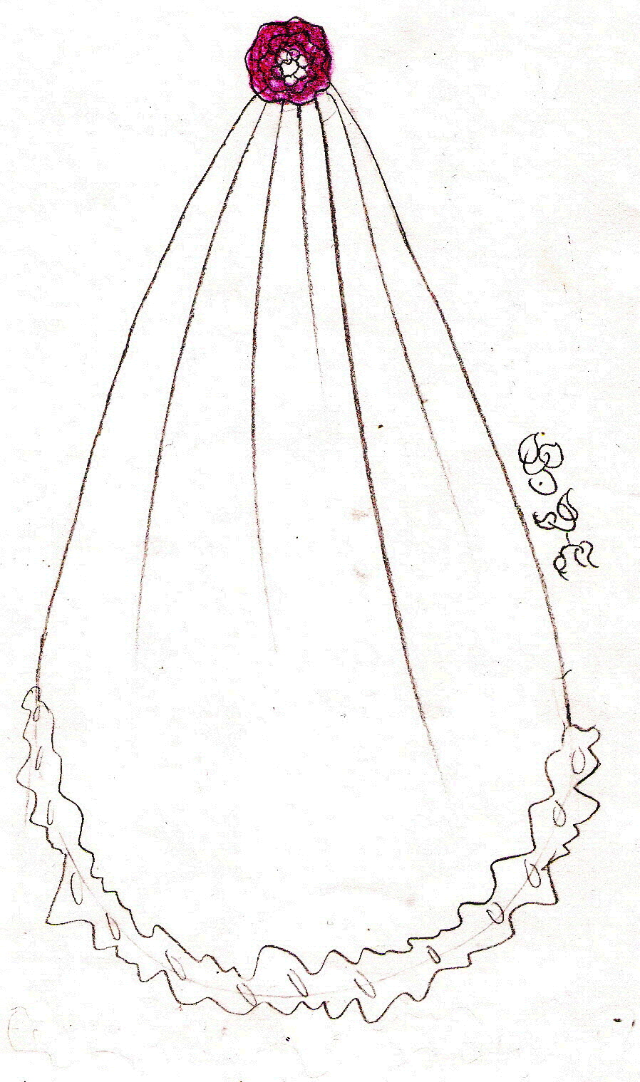 Bridal veil clipart 20 free Cliparts | Download images on ... (898 x 1519 Pixel)