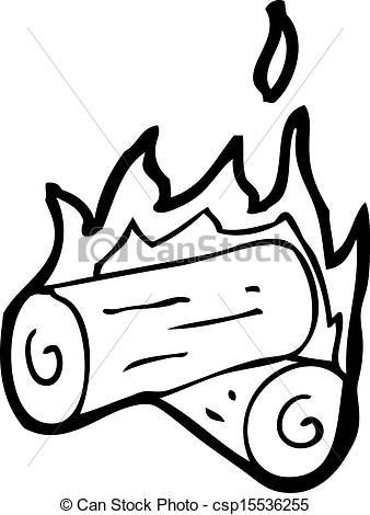 Burning Log Clipart Clipground