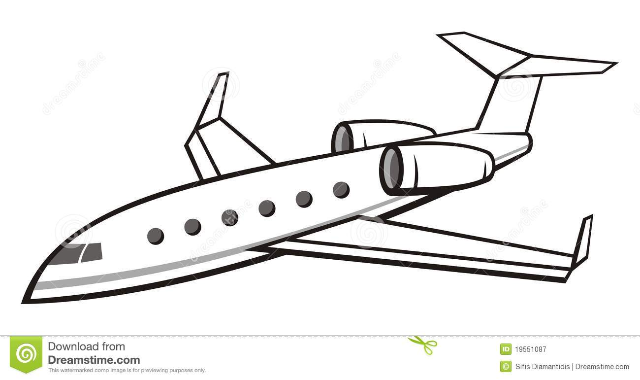 Business Jet Clipart