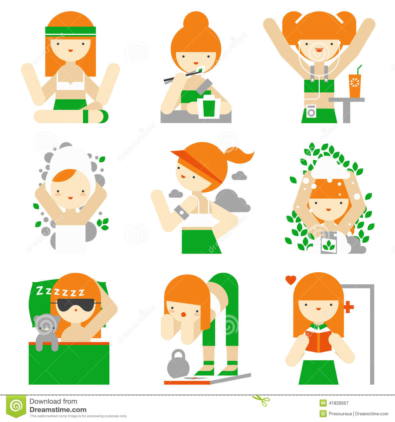 Care Of The Body Clipart