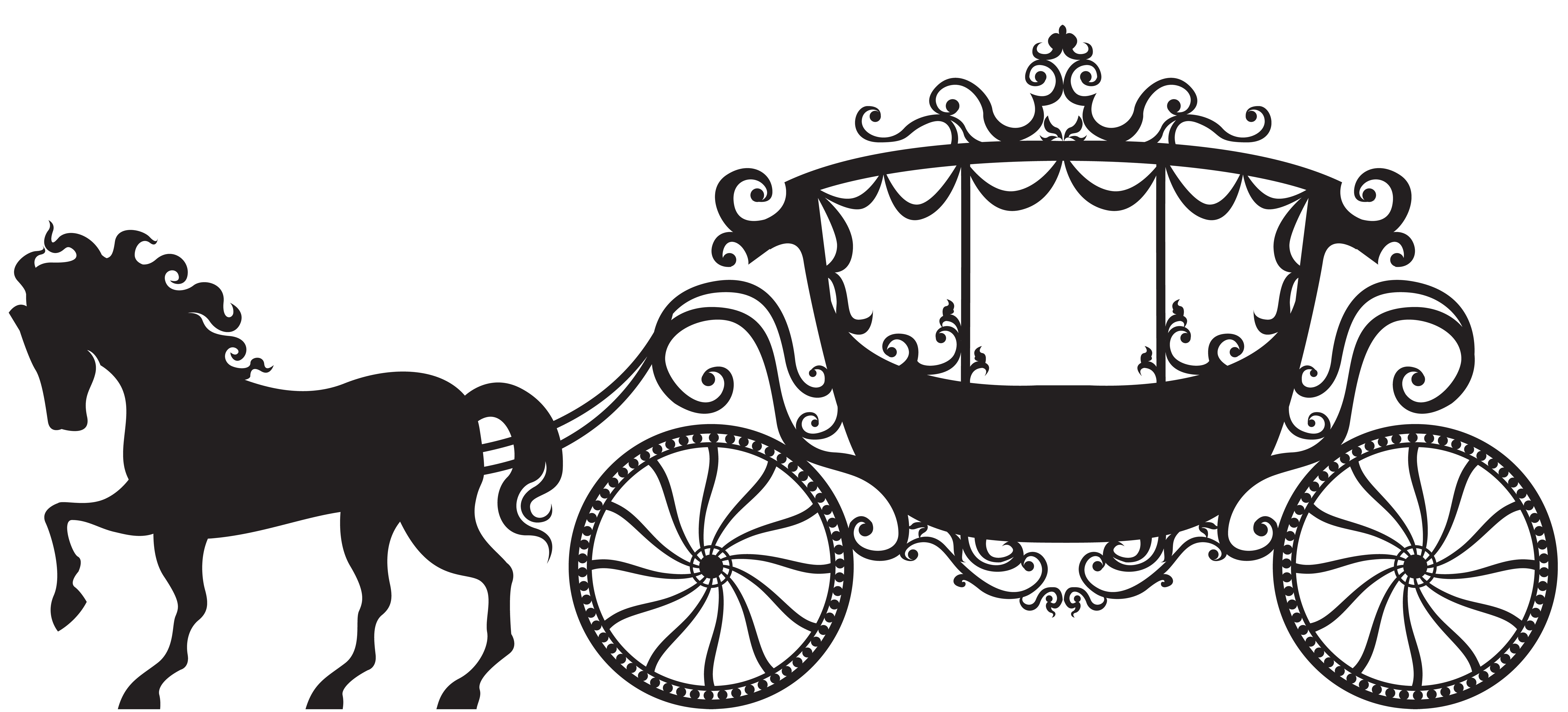 Carriage Silhouette Clipart 20 Free Cliparts