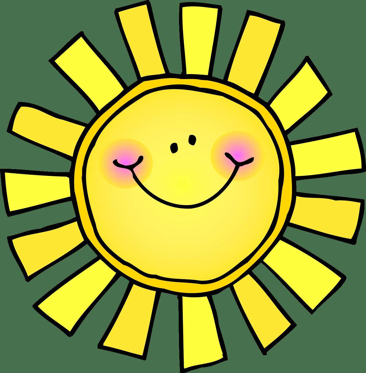 Carson Dellosa Sun Clipart