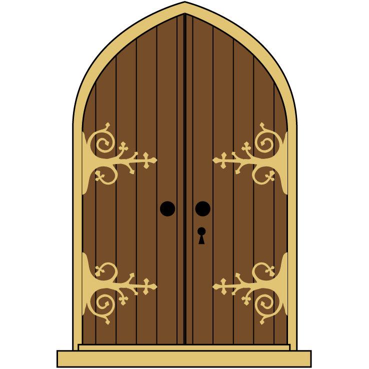 Front Door Arch Clip Art