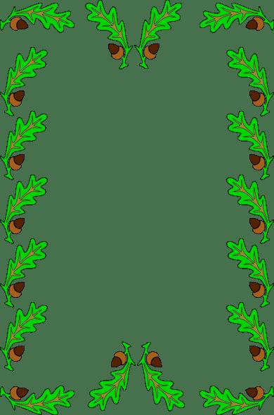 Leaf Frame Clipart Clipground