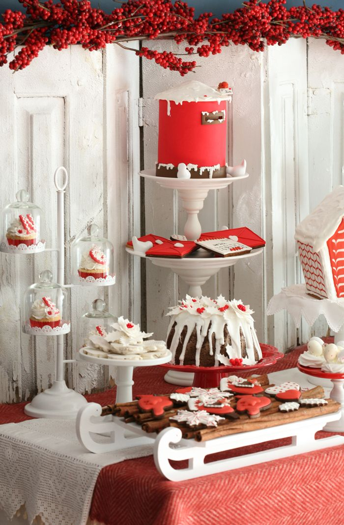 Christmas Dessert Table Clipart Clipground