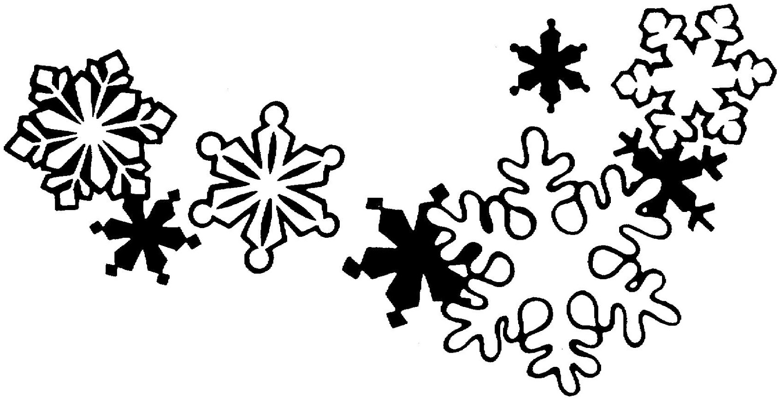Christmas T Border Clipart Black And White 20 Free