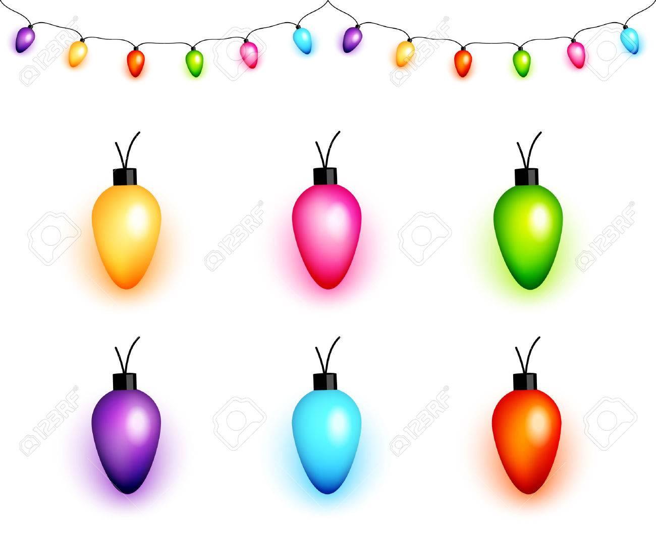 Christmas Light Bulb Clipart 20 Free Cliparts