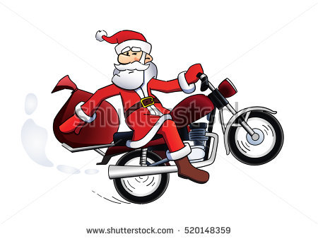 Christmas Motorcycle Clip Art Clipground