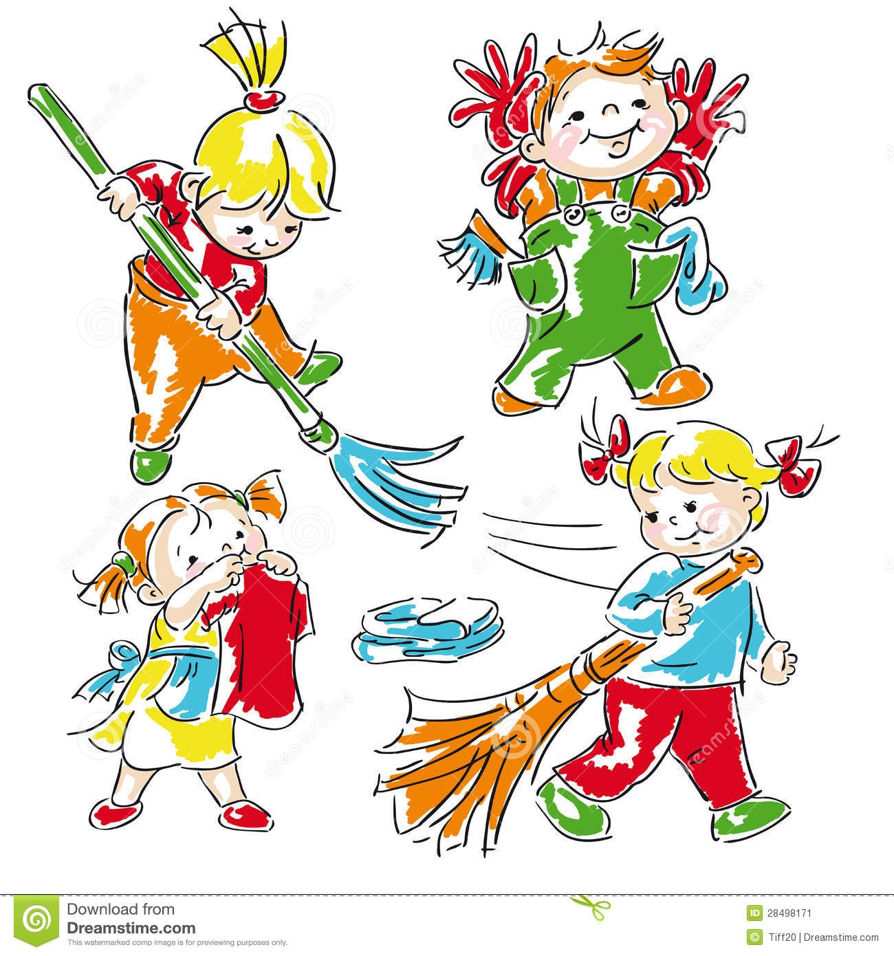 Cleaning Class Clipart