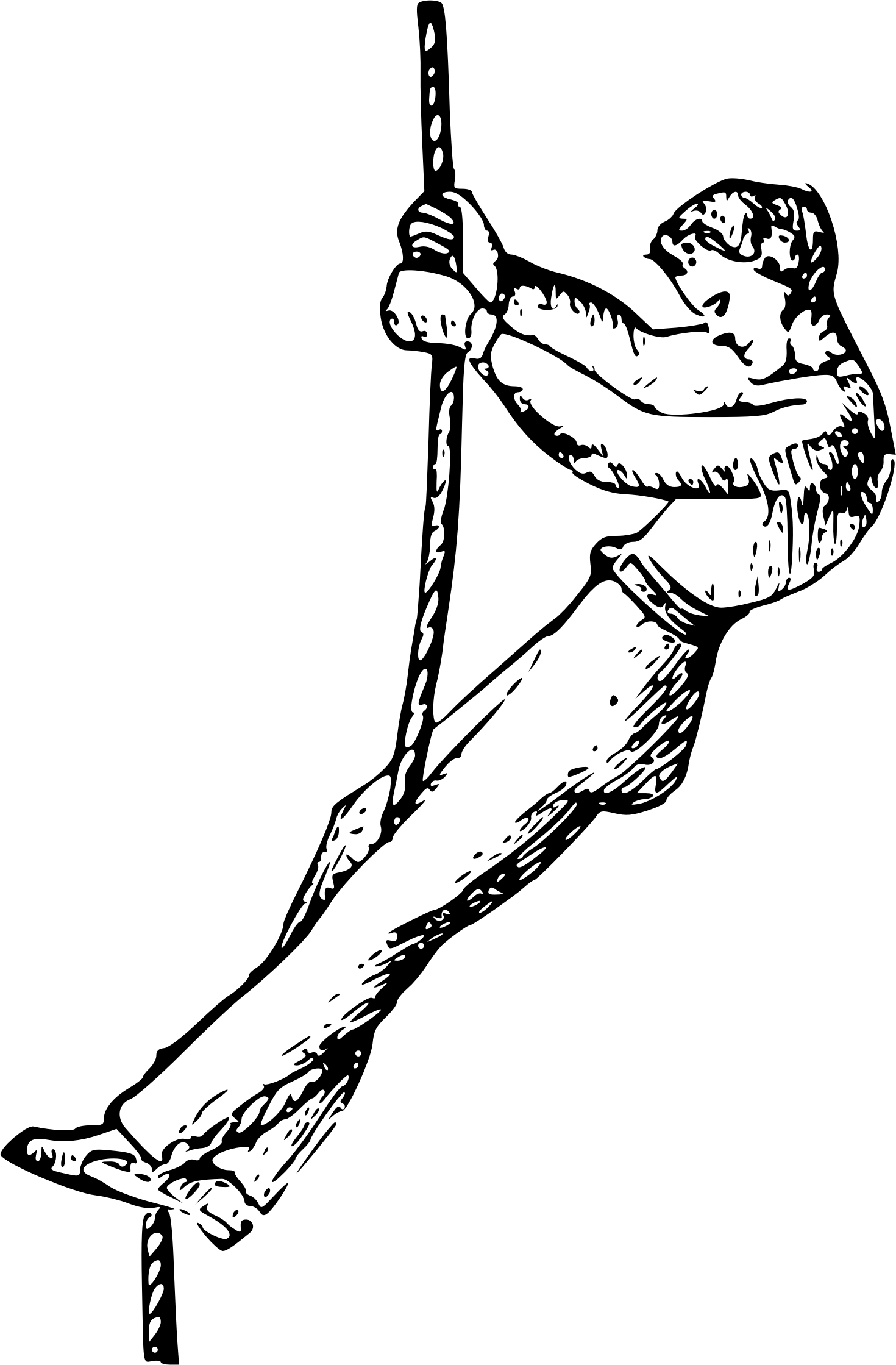 Climbing Rope Clipart