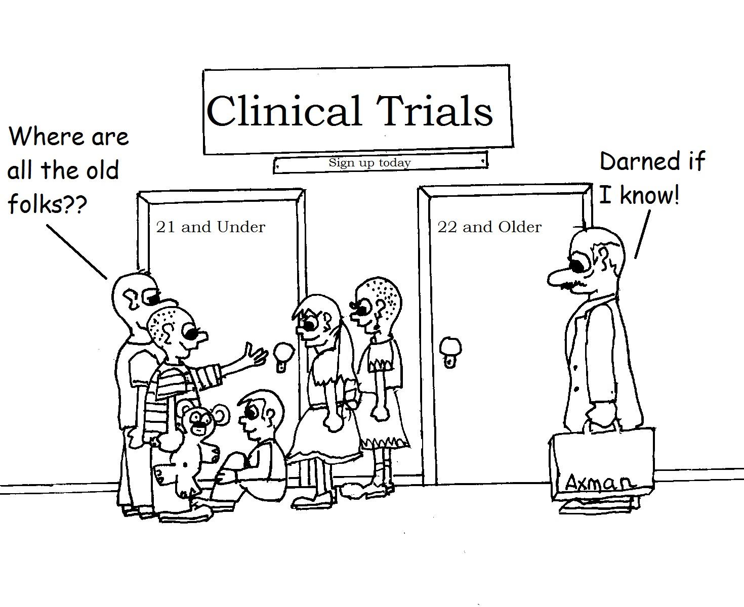 Clinical Trials Clipart