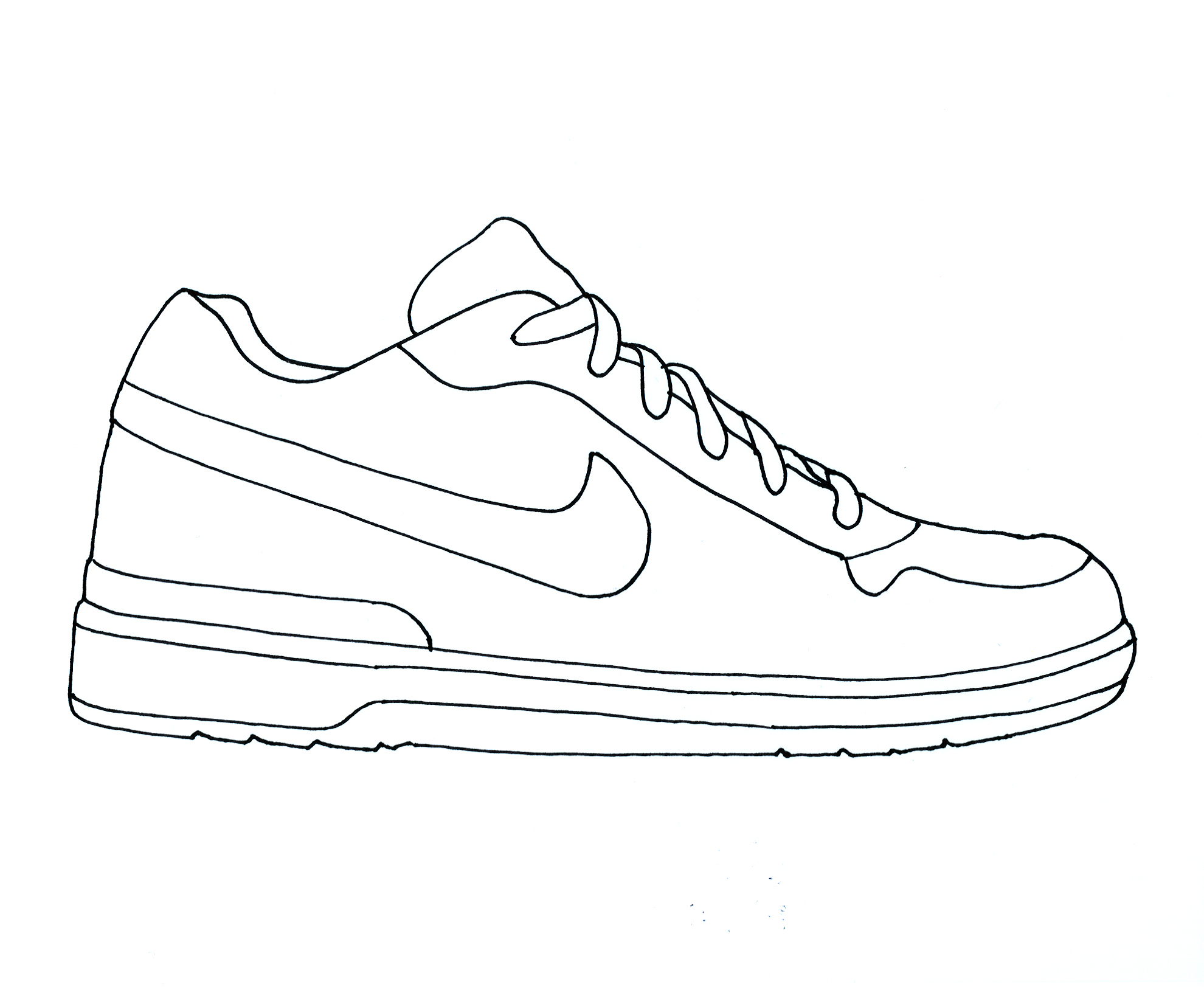 Clipart Boy Template Shoes