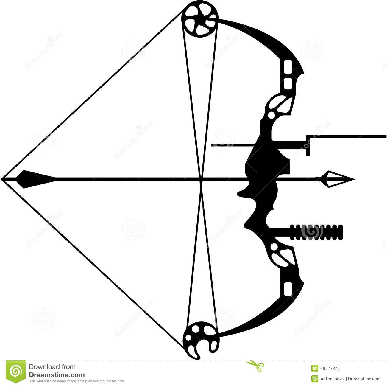 Clipart Compound Bow