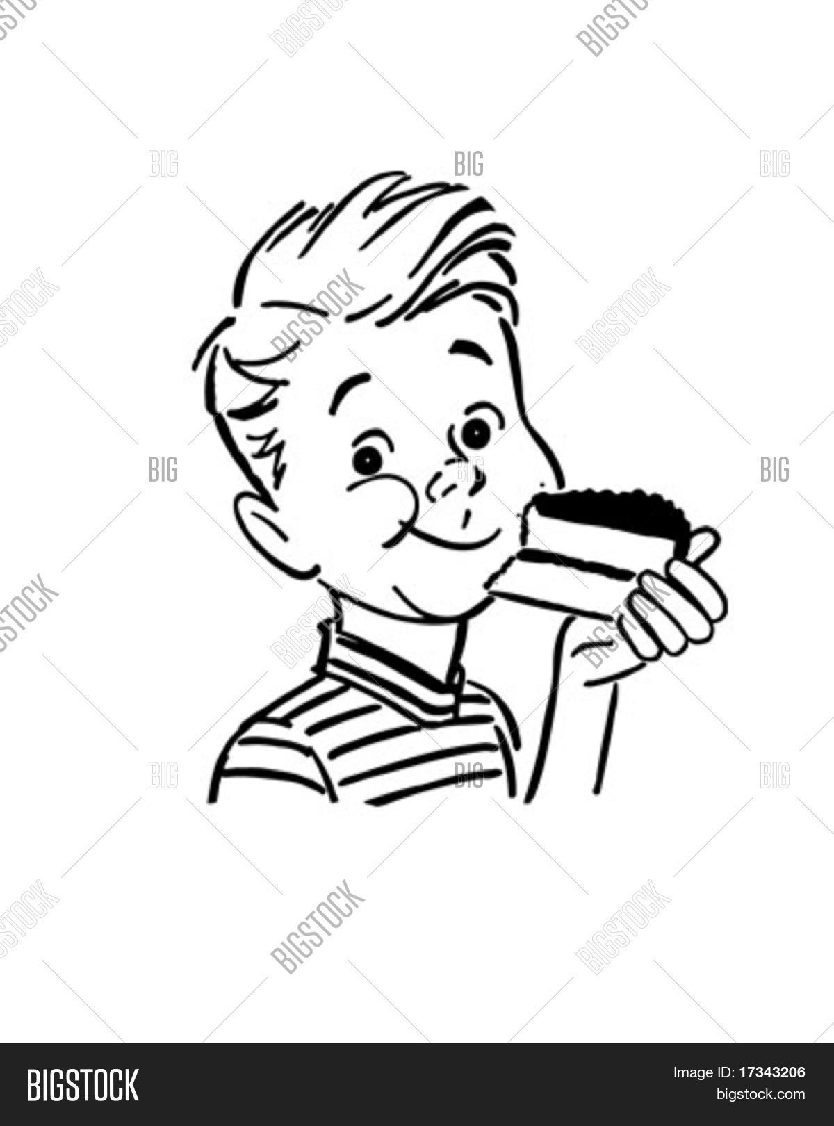 Clipart Eating Cake 20 Free Cliparts