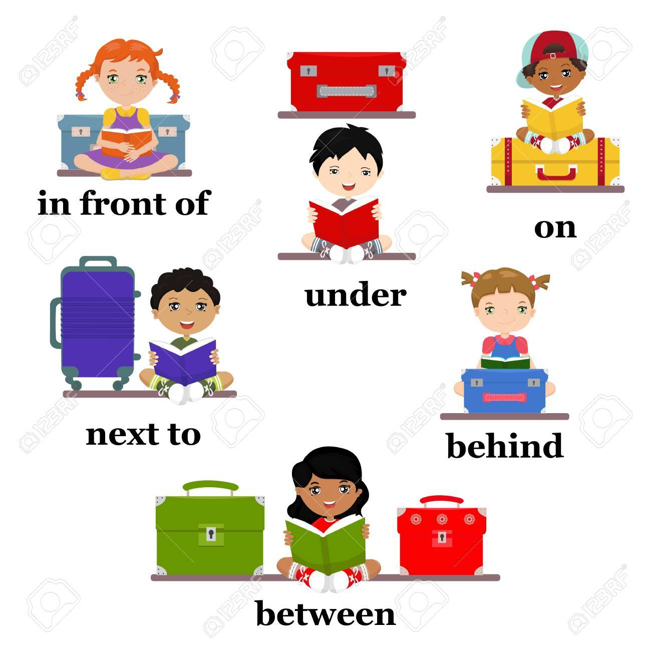Clipart Images For Prepositions 20 Free Cliparts