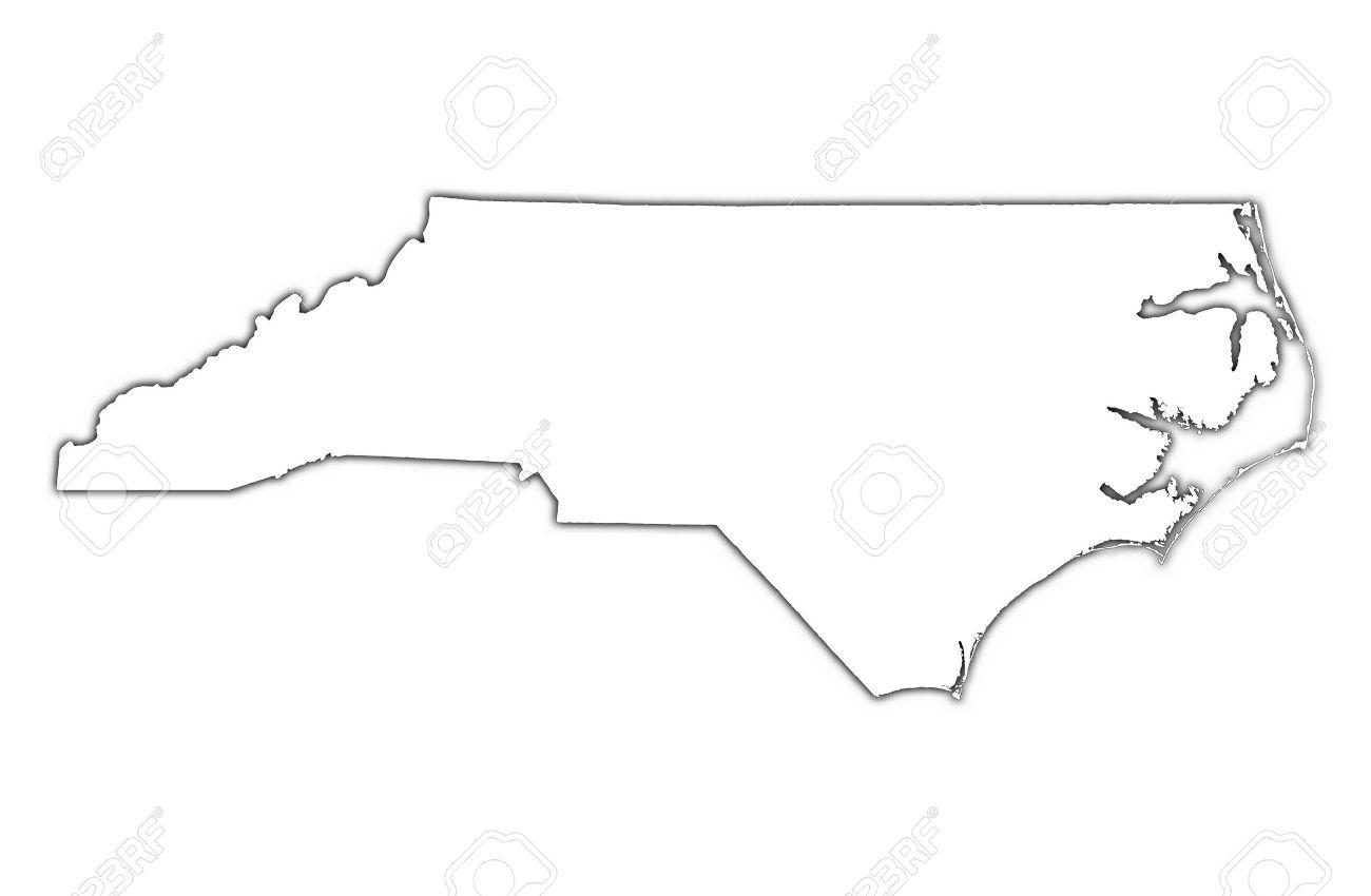 North Carolina Clipart Outline