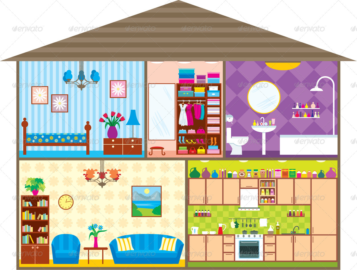Part Of The House Clipart