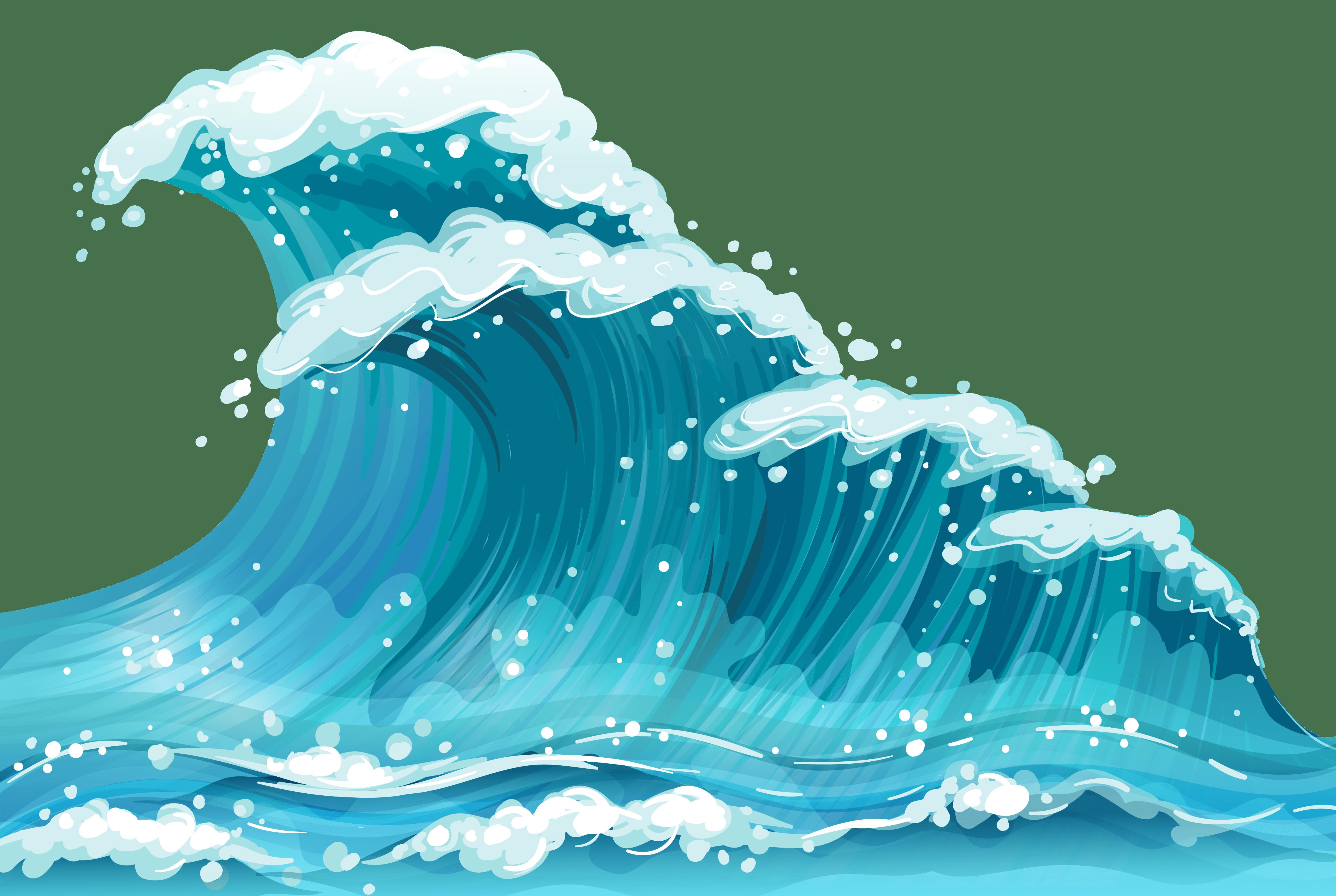 clipart waves transparent - Clipground (4633 x 3108 Pixel)