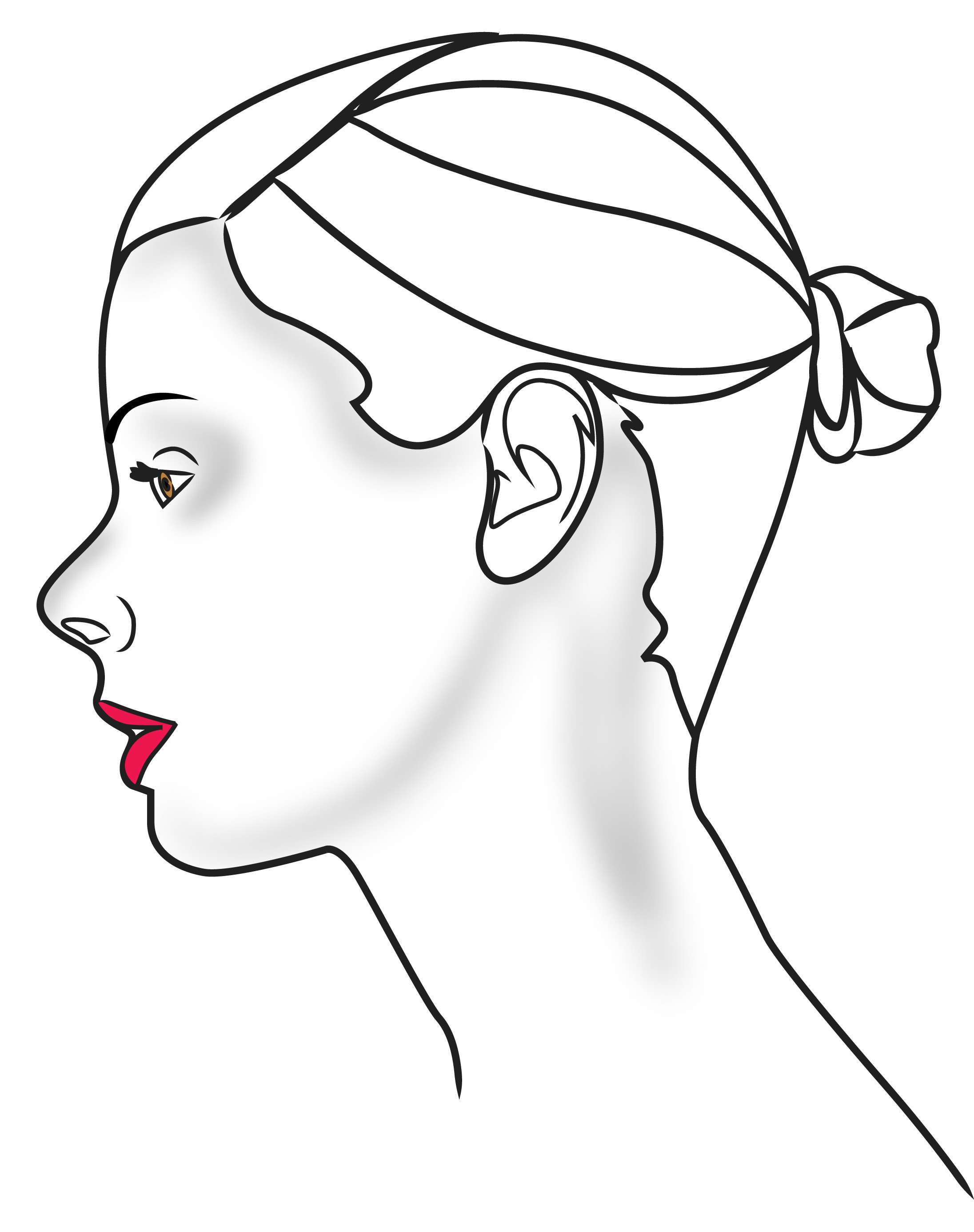 Clipart Profile Outline 20 Free Cliparts