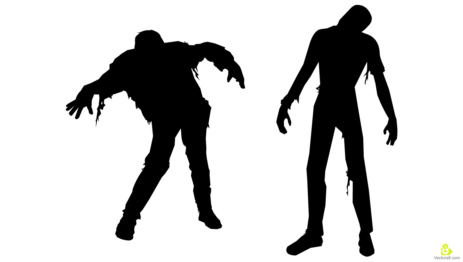 Walking Zombie Clipart Clipground