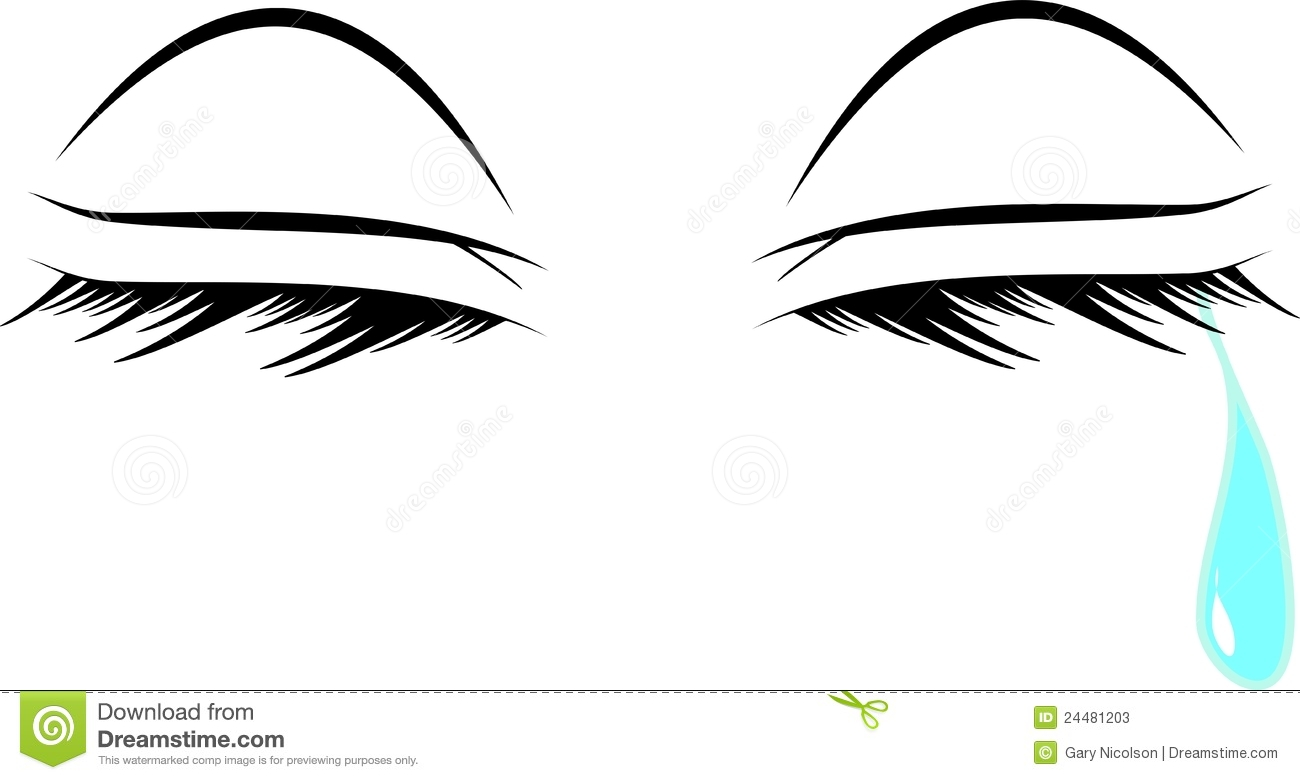 Closed Eyes Clipart