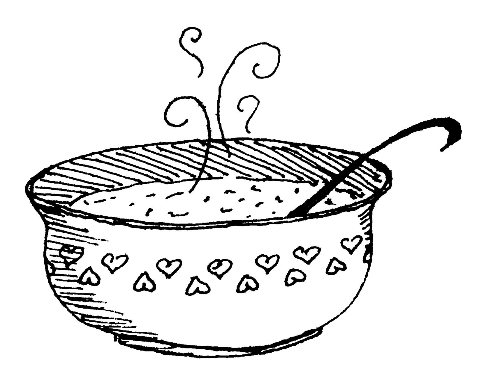 Cold Soup Clipart