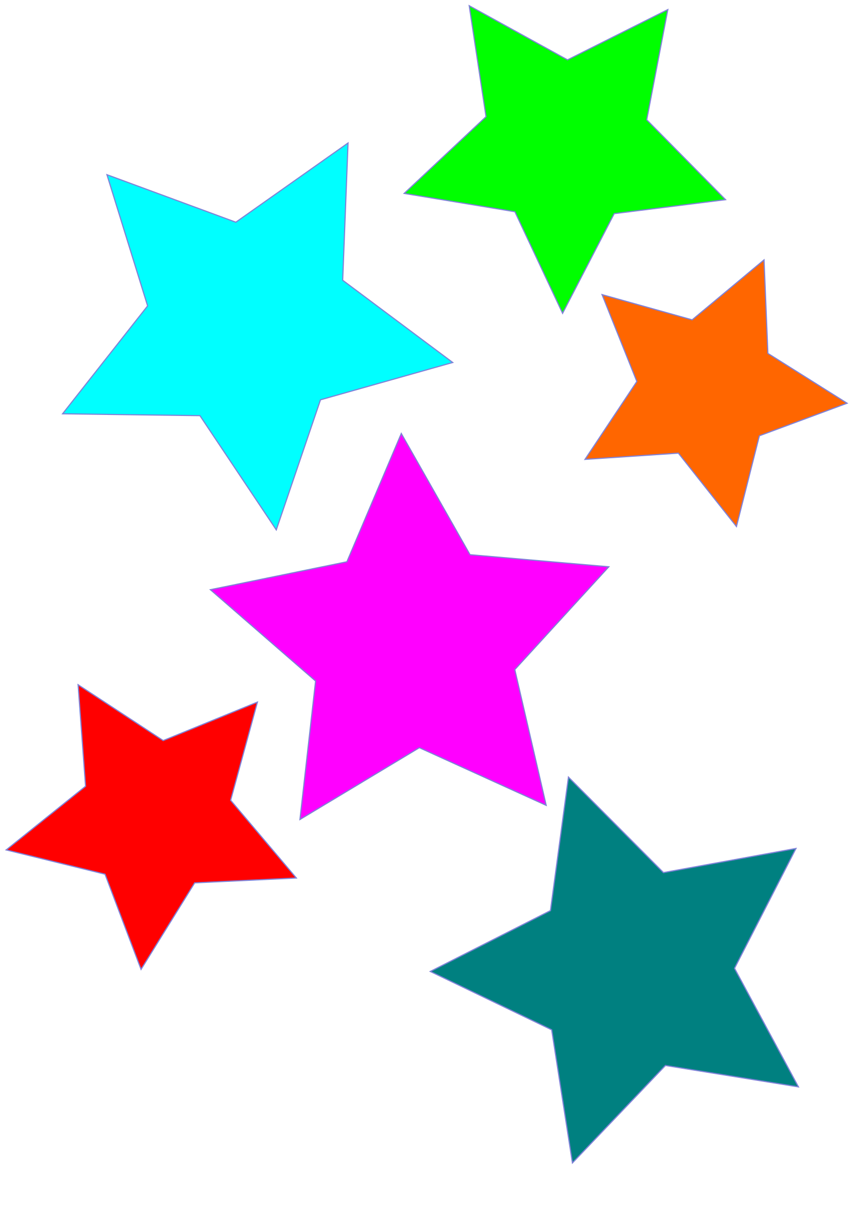 Stars Clipart Background