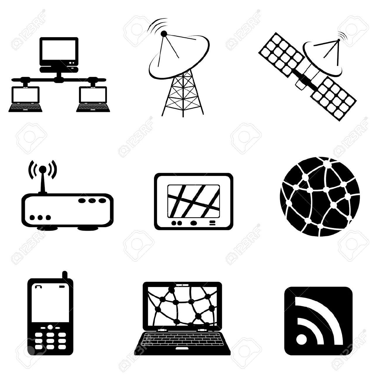 Communication Technology Clipart 20 Free Cliparts