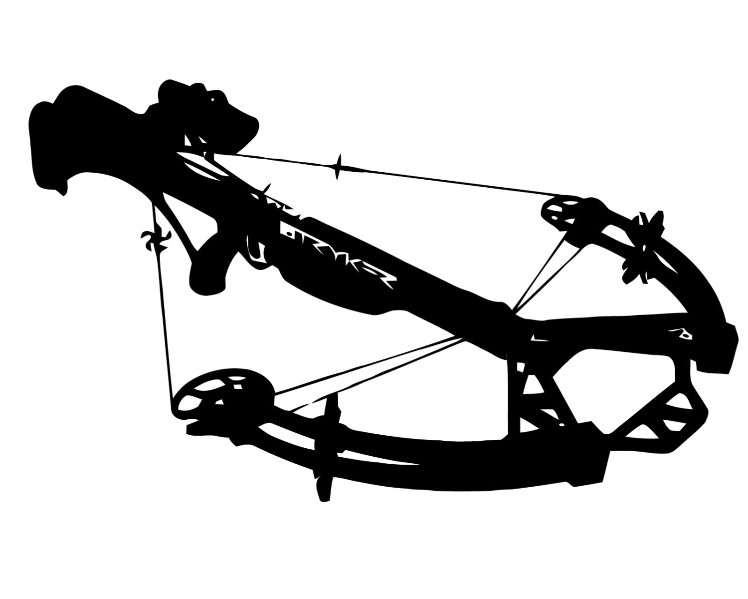 Crossbow Clipart