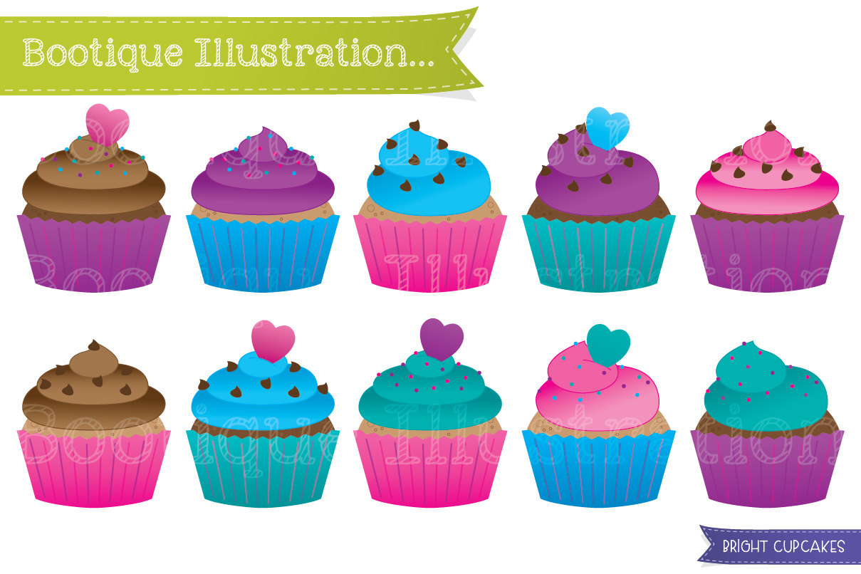 Cup Cakes Clipart 20 Free Cliparts Download Images On
