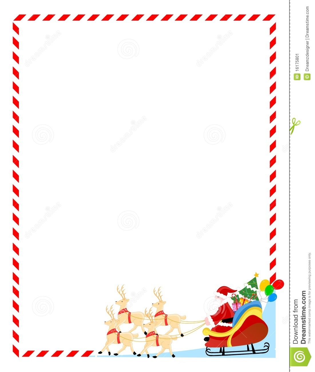 Cute Christmas Clipart Boreder