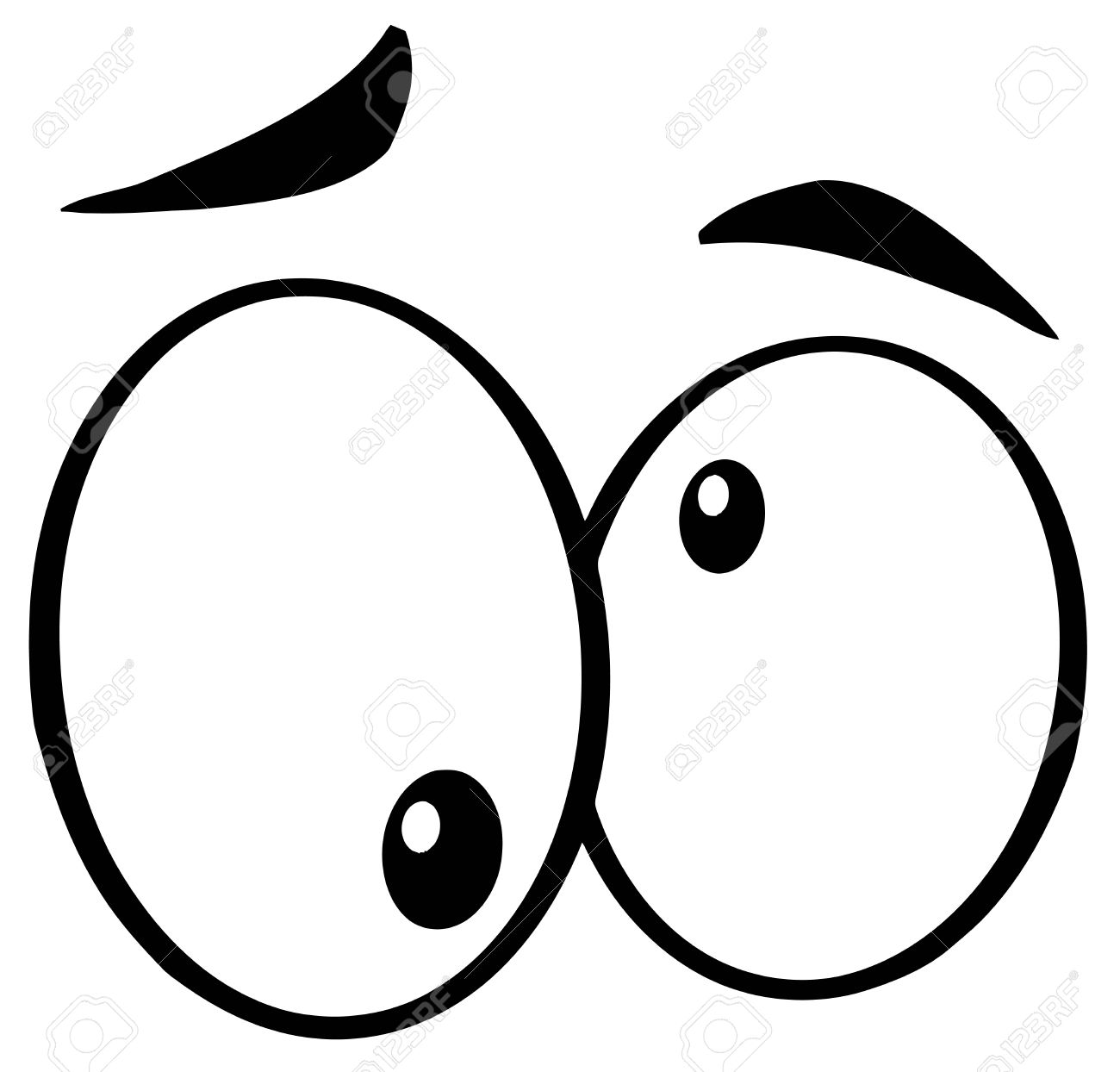 Cute Eyes And Mouths Clipart Free