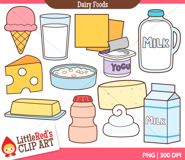 Dairy Products Clipart