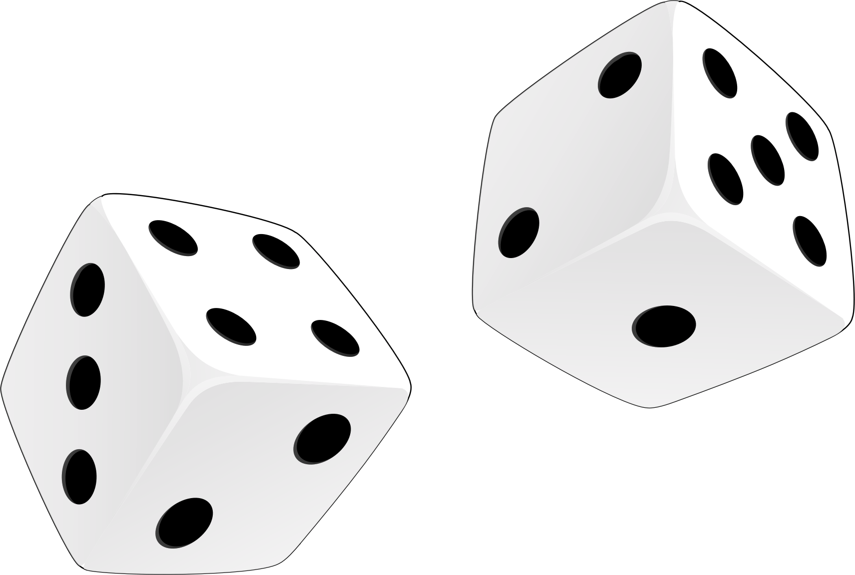 Dices Clipart