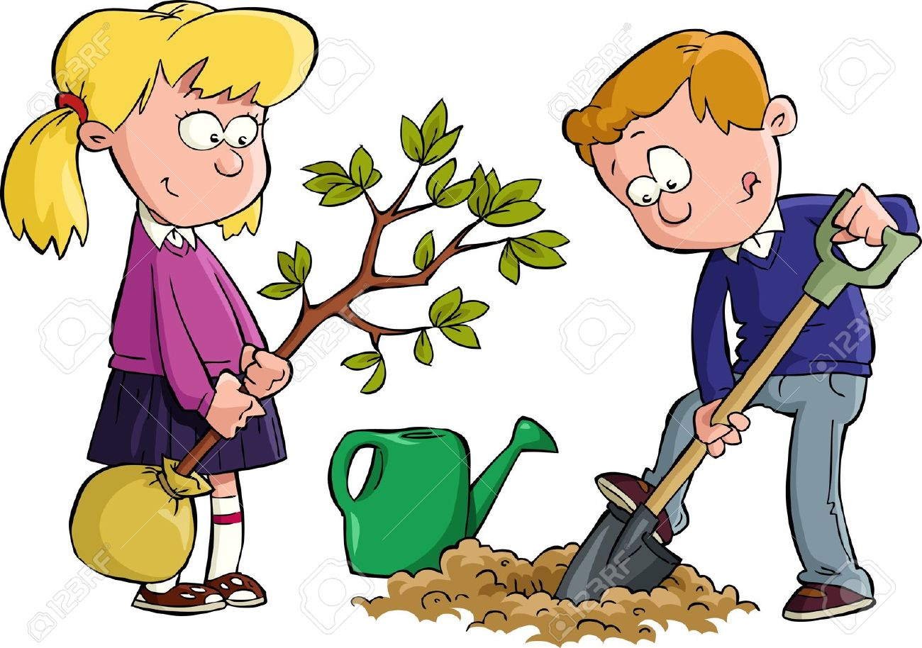 boy digging with shovel clipart - Clipground (1300 x 914 Pixel)