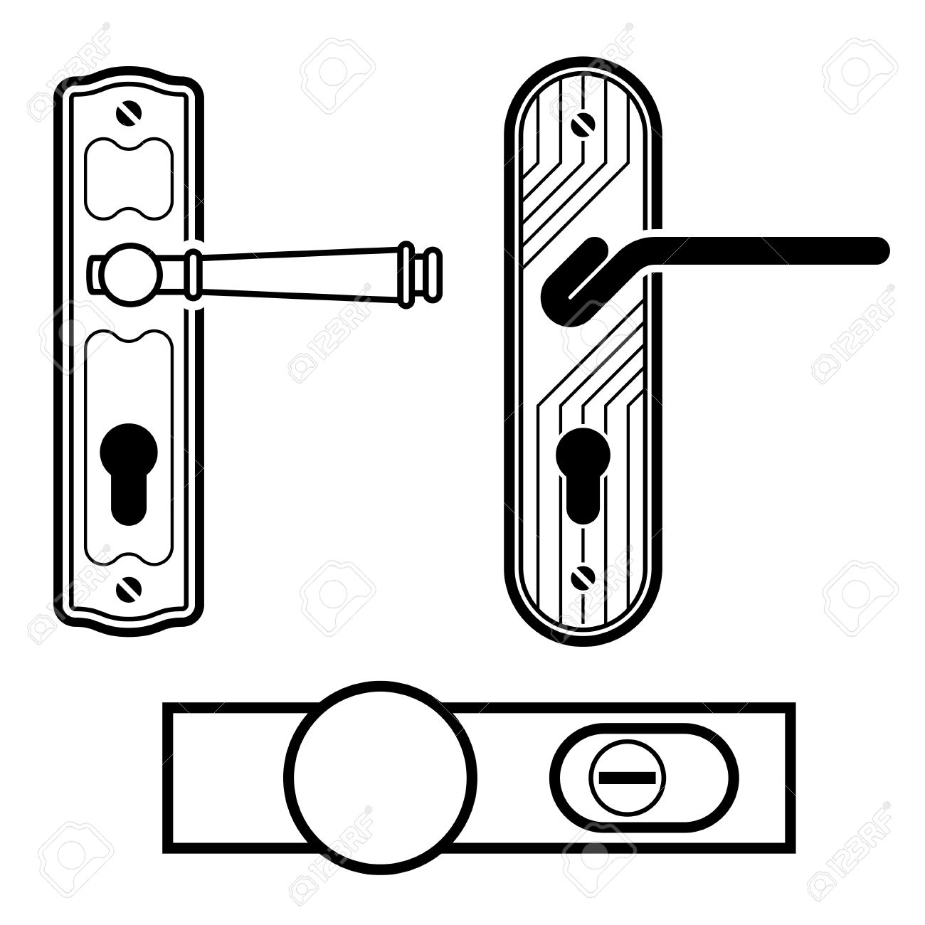 Door Hardware Clipart 20 Free Cliparts