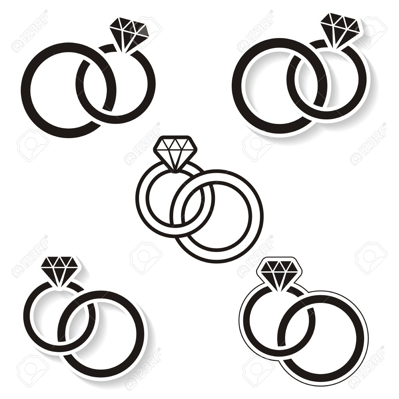 Double Ring Clipart