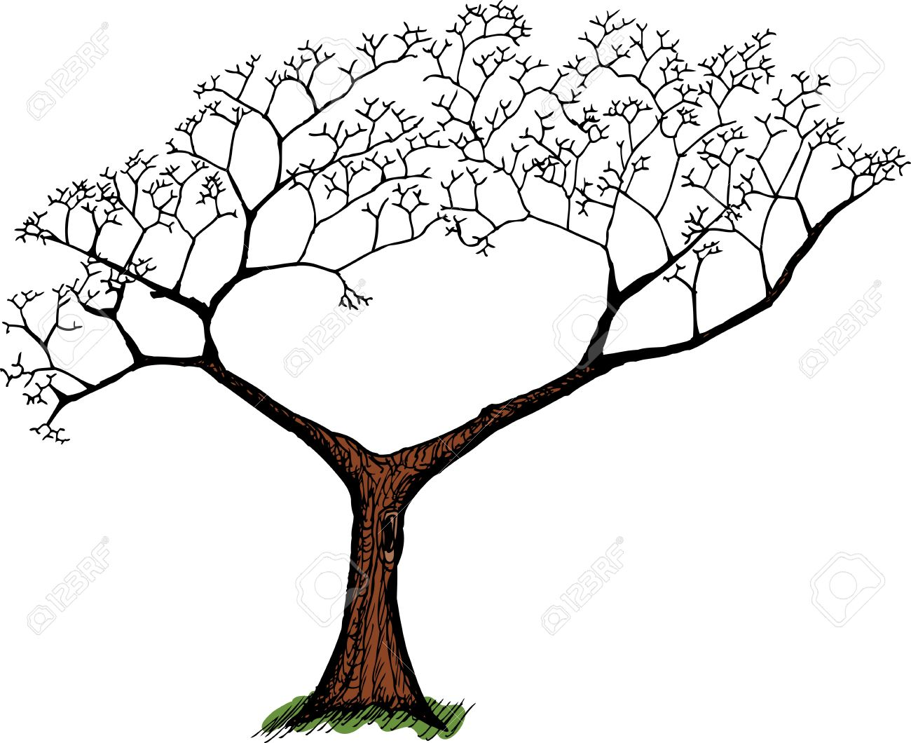 Dying Tree Clipart