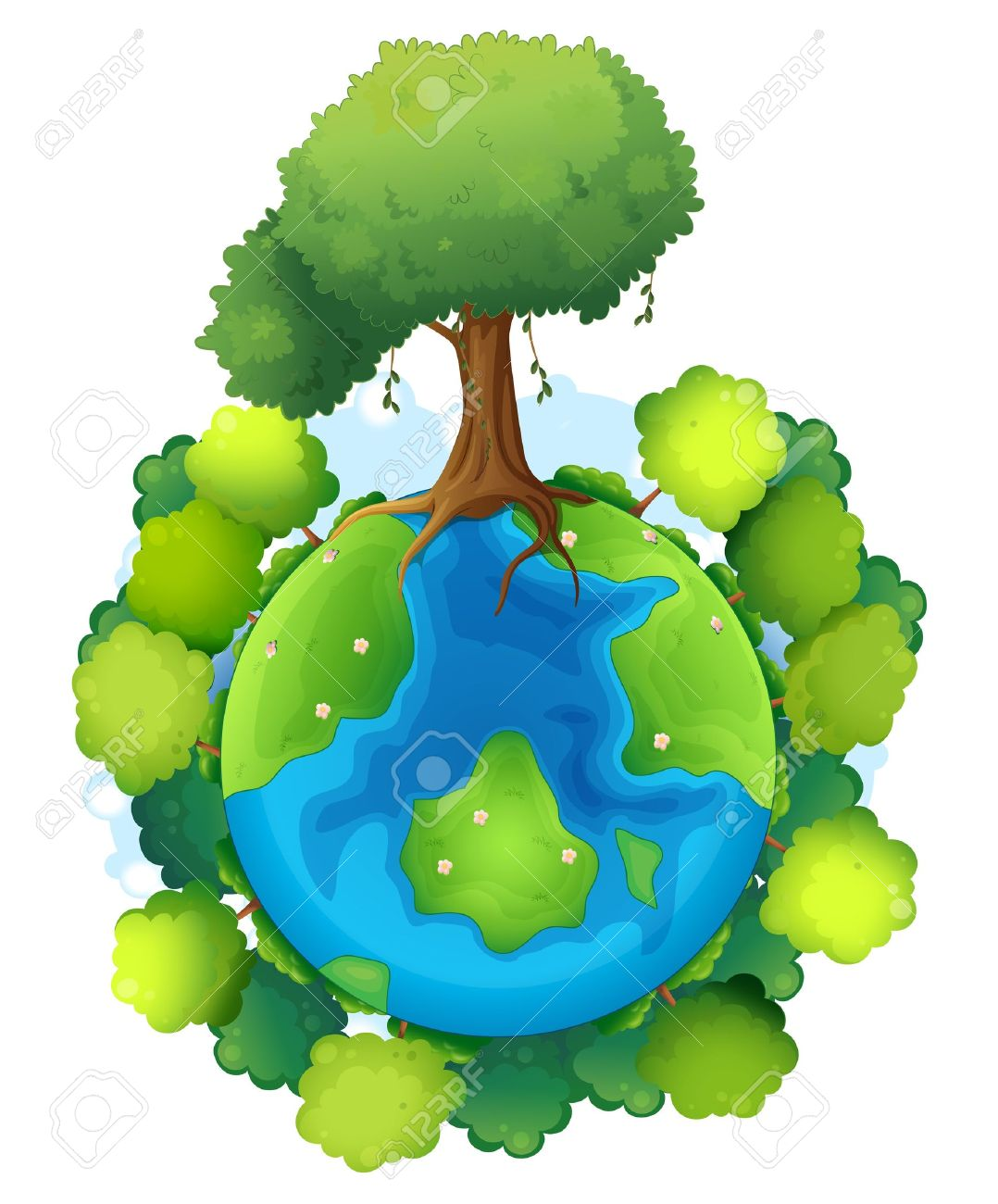 Earth Clipart Transparent Background Clipground