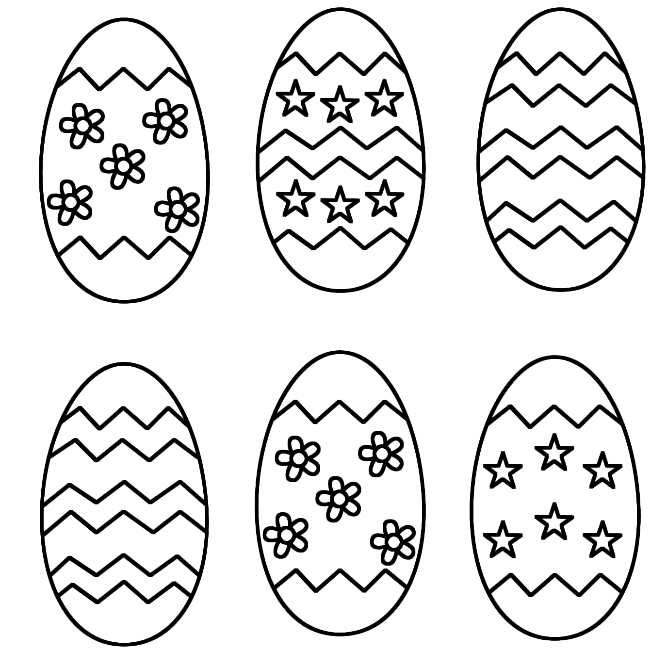 Easter Color Clipart