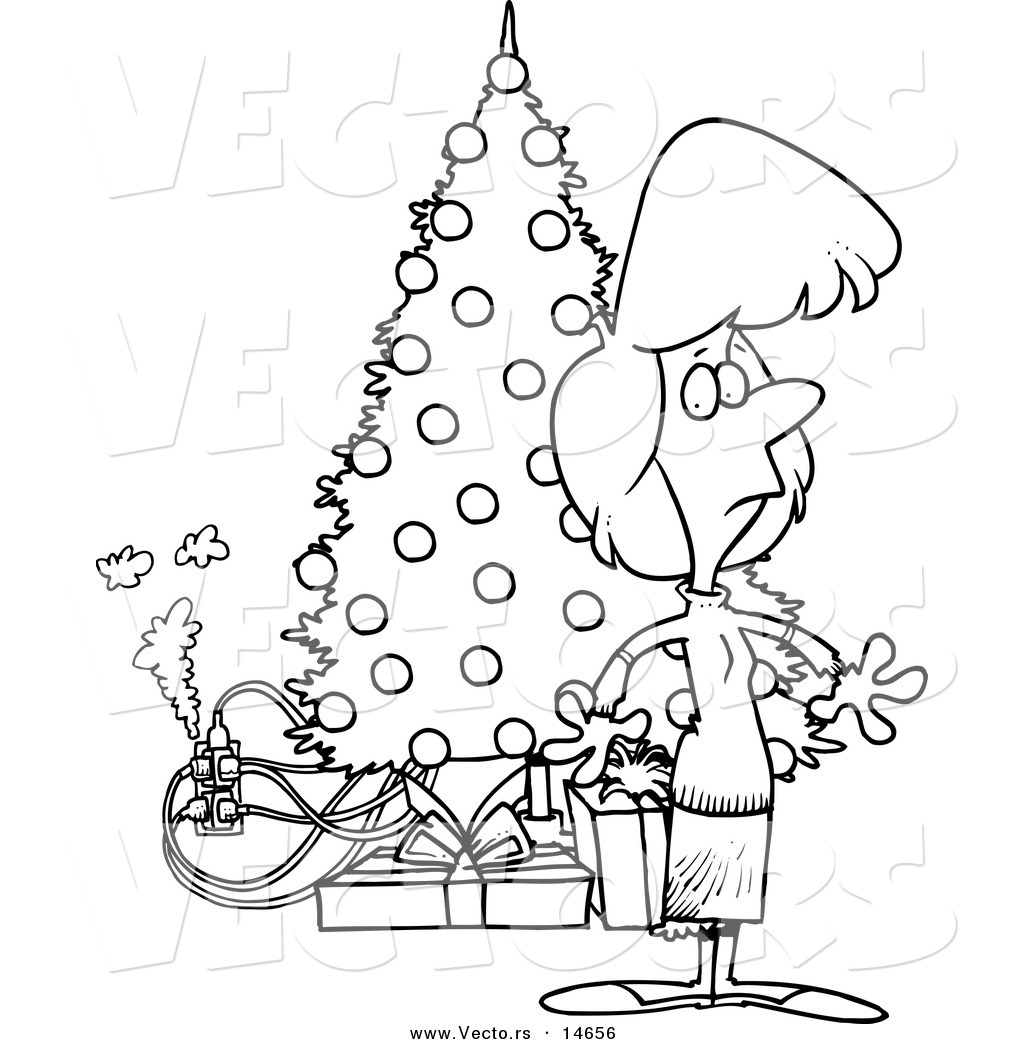 Electric Christmas Tree Clipart 20 Free Cliparts